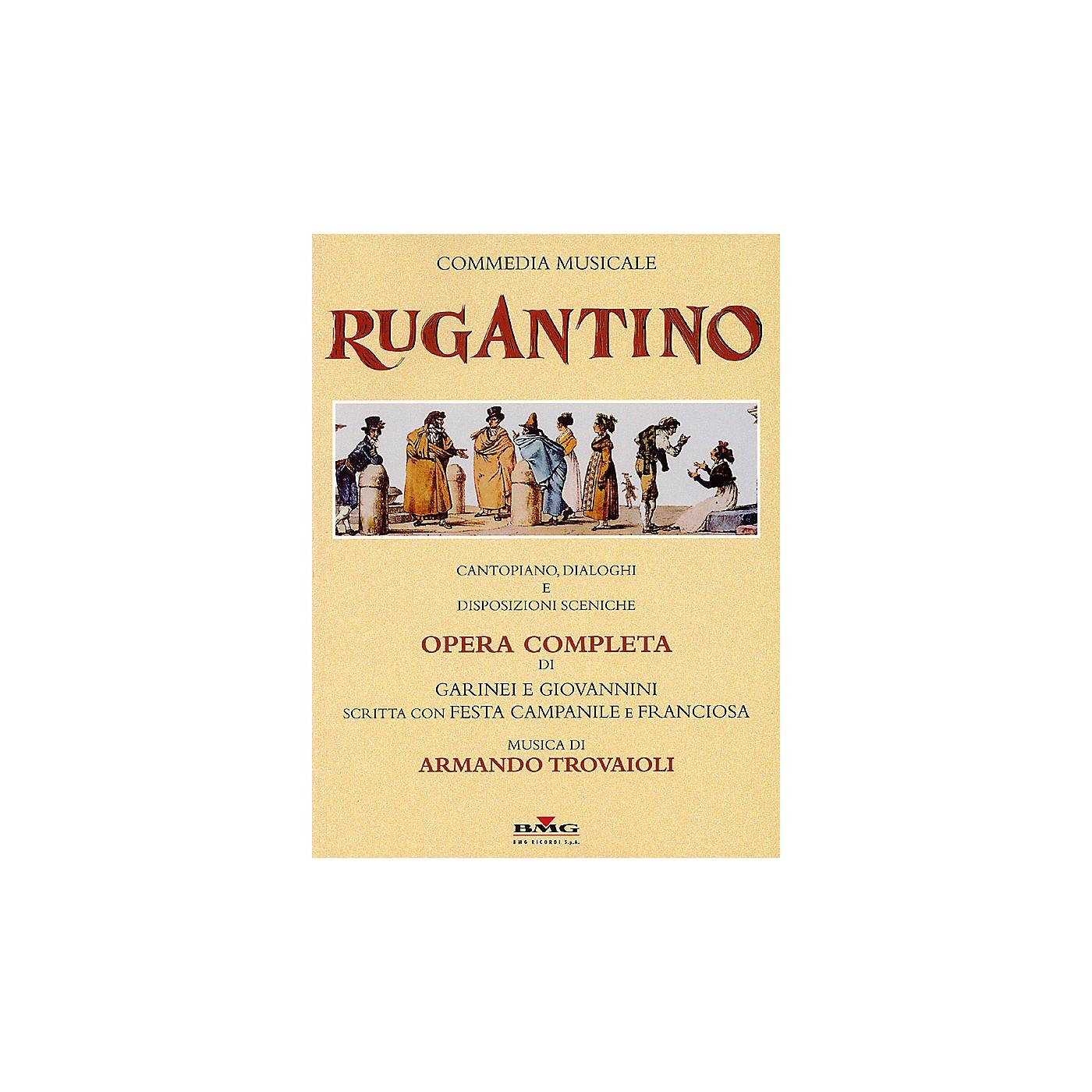 Ricordi Rugantino - A Musical Comedy (Vocal Score) Score Composed by Armando Trovaioli thumbnail