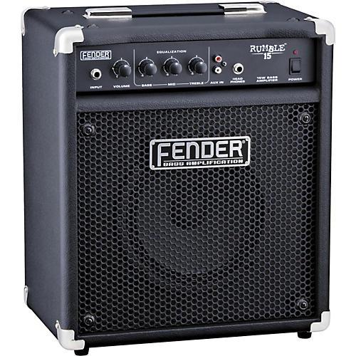 Fender Rumble 15 V2 15W 1x8 Bass Combo Amp thumbnail