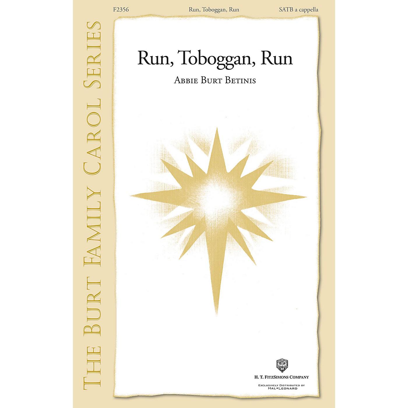 H.T. FitzSimons Company Run, Toboggan, Run SATB a cappella composed by Abbie Burt Betinis thumbnail