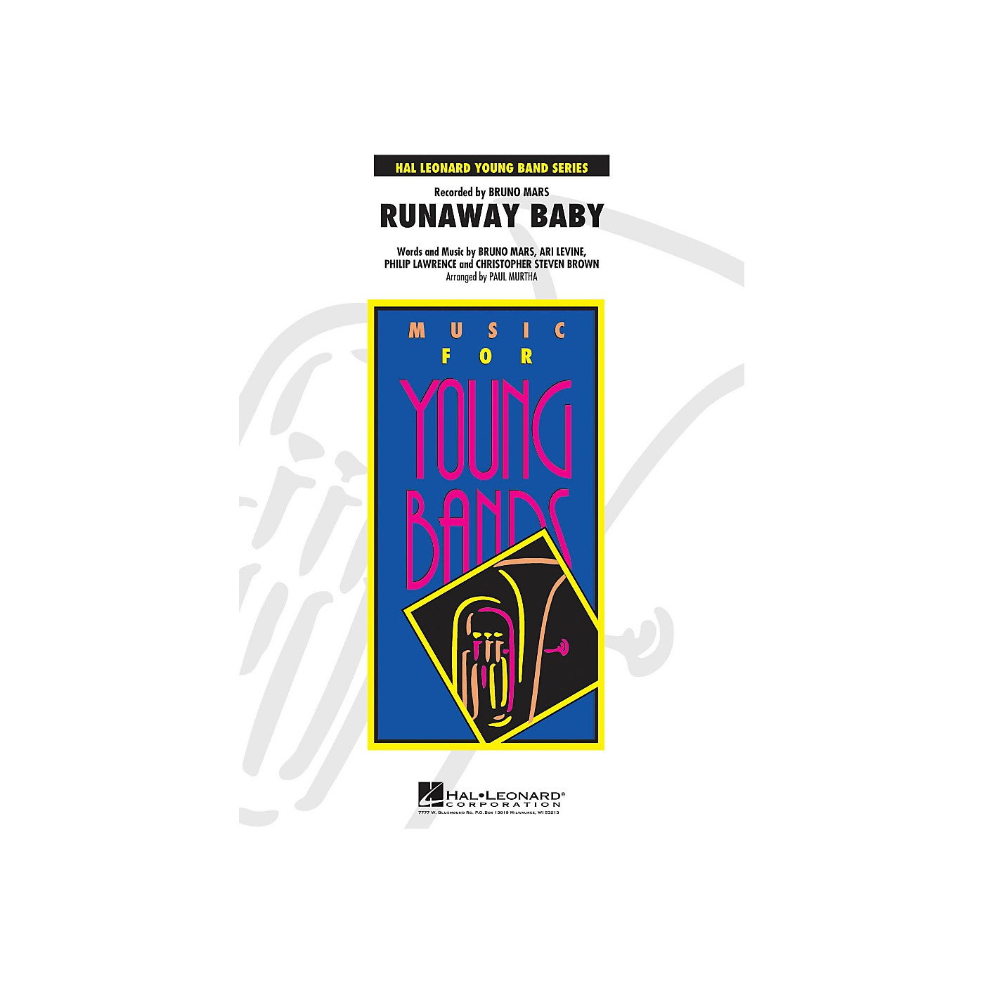 Hal Leonard Runaway Baby - Young Concert Band Series Level 3 thumbnail