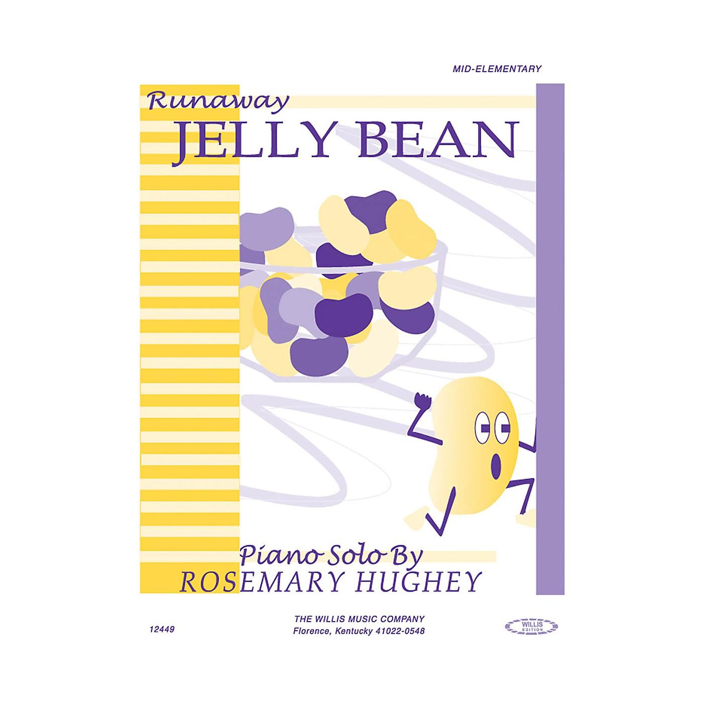 Willis Music Runaway Jelly Bean (Mid-Elem Level) Willis Series by Rosemary Hughey thumbnail