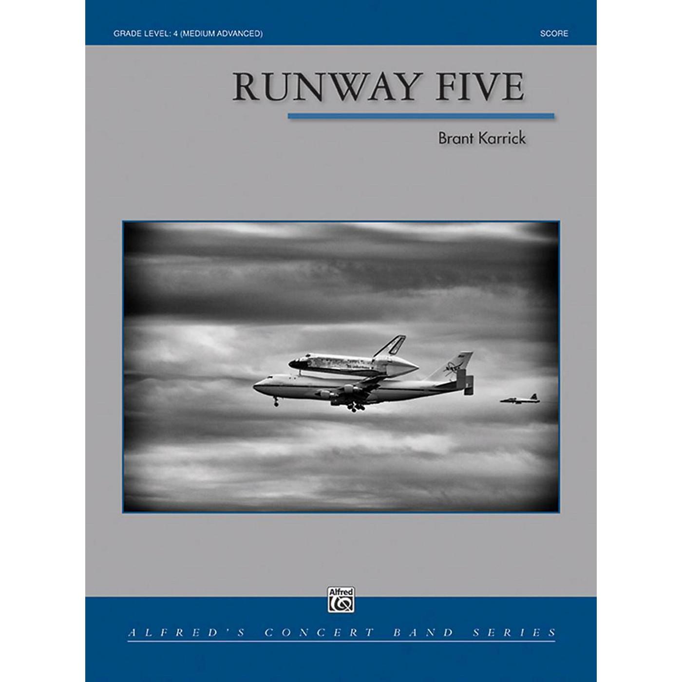 Alfred Runway Five Concert Band Grade 4 Set thumbnail