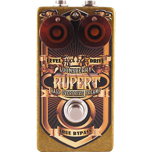 Lounsberry Pedals Rupert Bass Overdrive Effects Pedal thumbnail