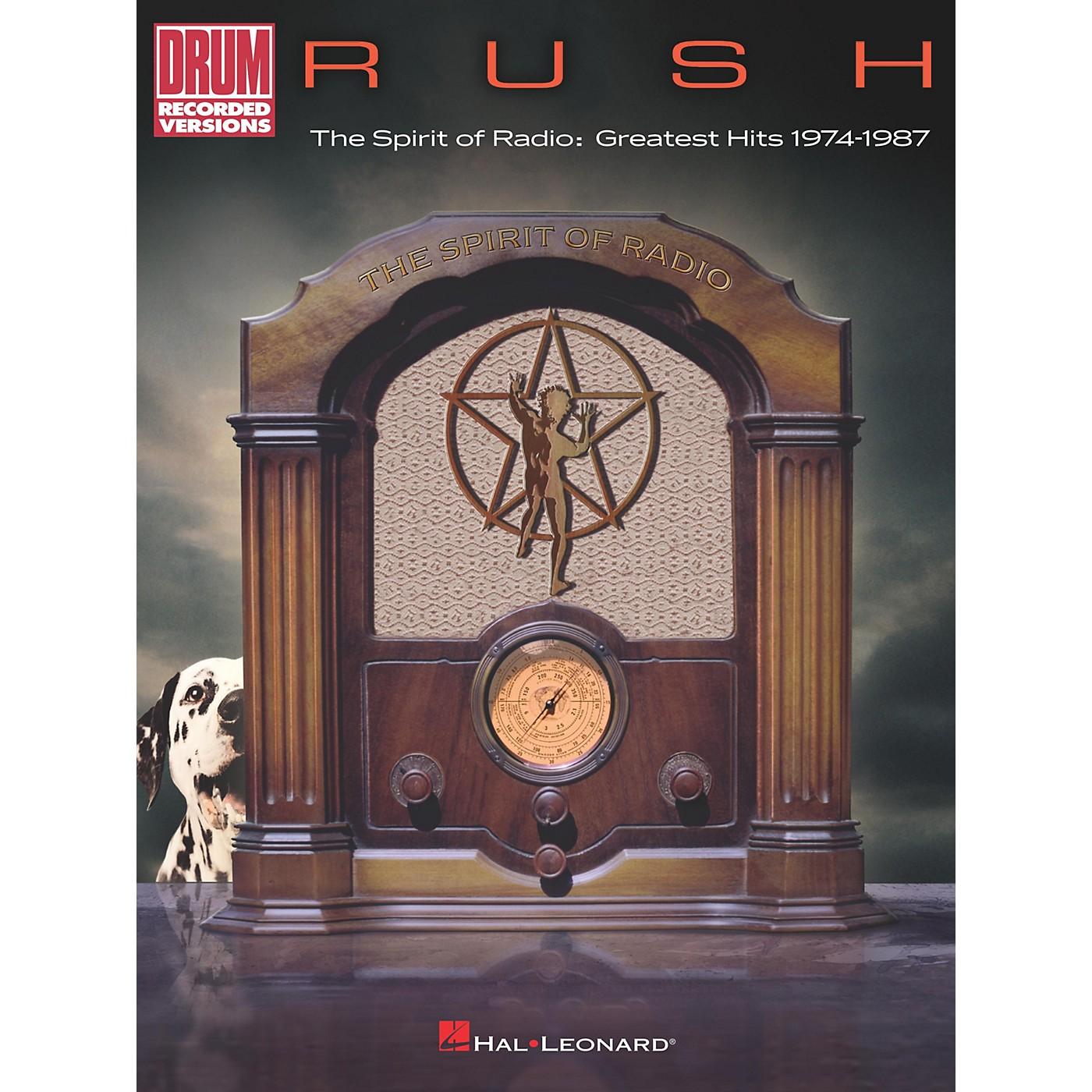 Hal Leonard Rush - The Spirit of Radio: Greatest Hits 1974-1987 Drum Transcriptions book thumbnail