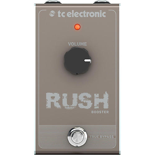 TC Electronic Rush Booster Effect Pedal thumbnail