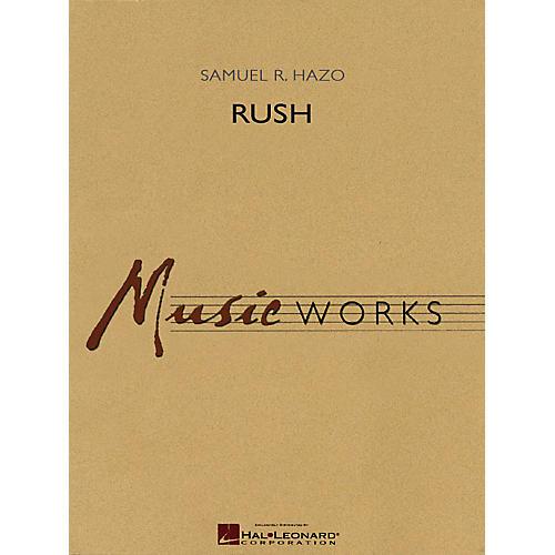 Hal Leonard Rush Concert Band Level 5 Composed by Samuel R. Hazo thumbnail