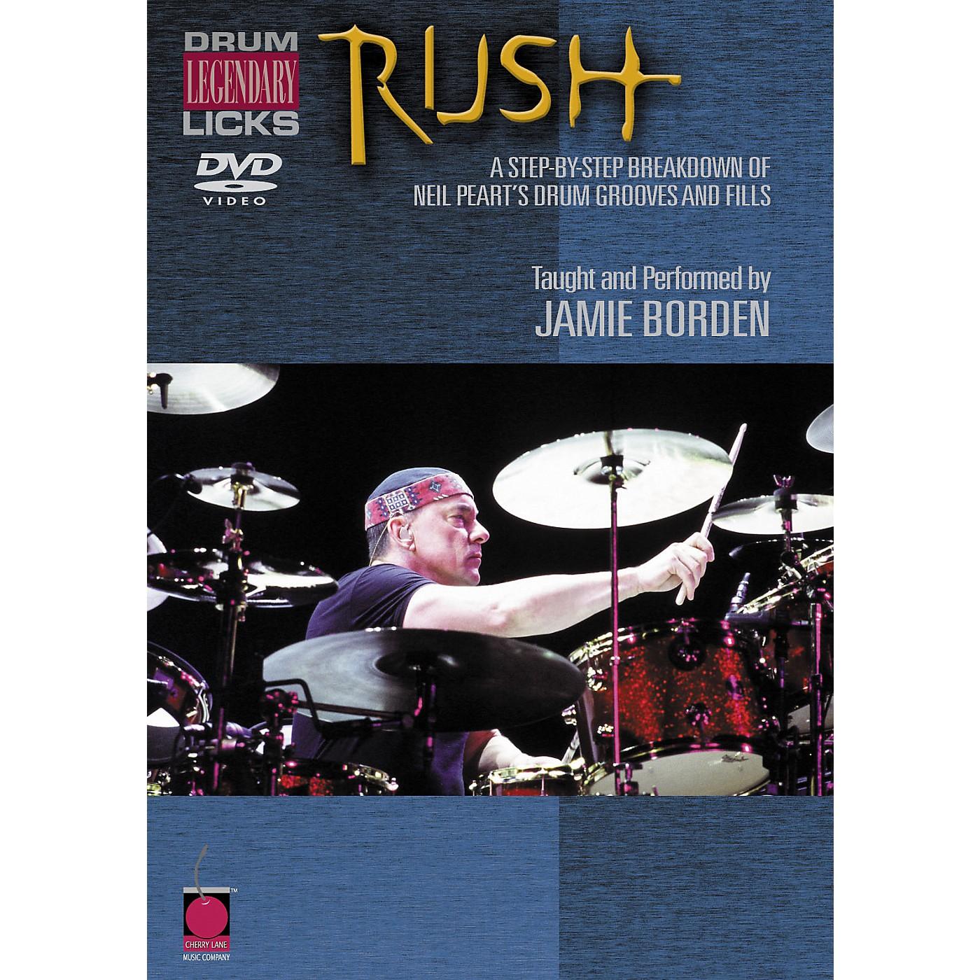 Cherry Lane Rush Legendary Licks for Drums DVD thumbnail