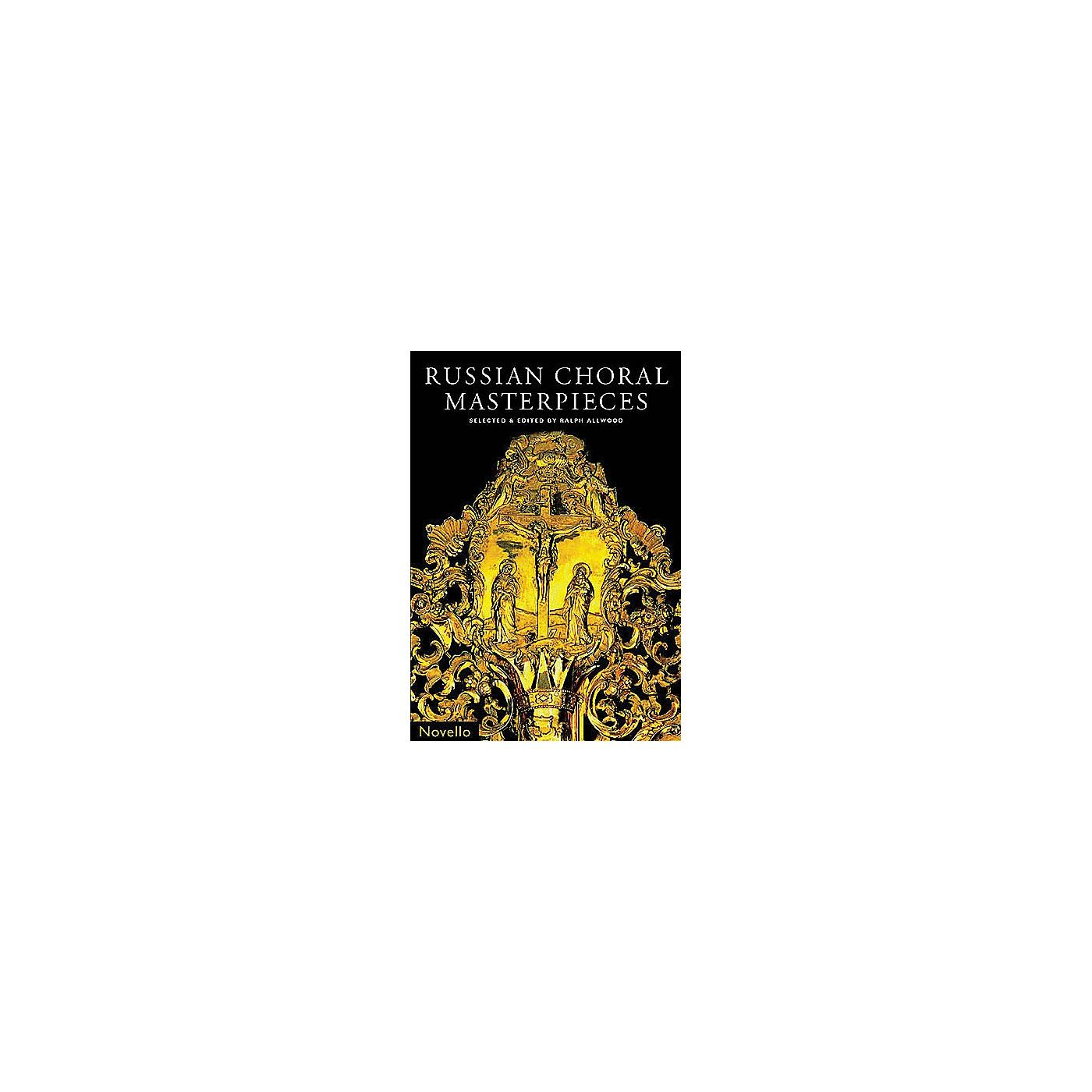 Novello Russian Choral Masterpieces COLLECTION thumbnail