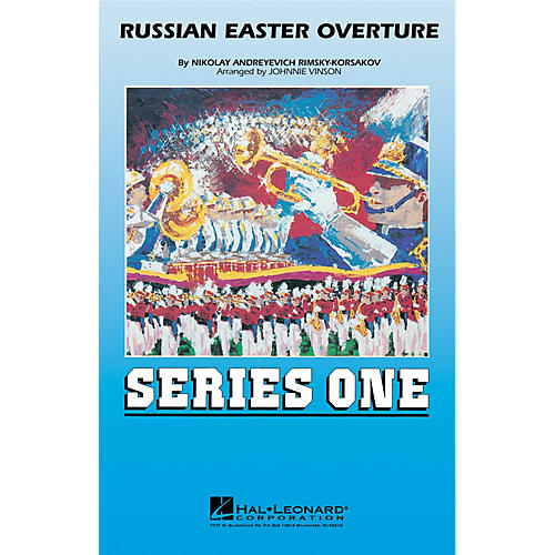 Hal Leonard Russian Easter Overture Marching Band Level 2 Arranged by Johnnie Vinson thumbnail