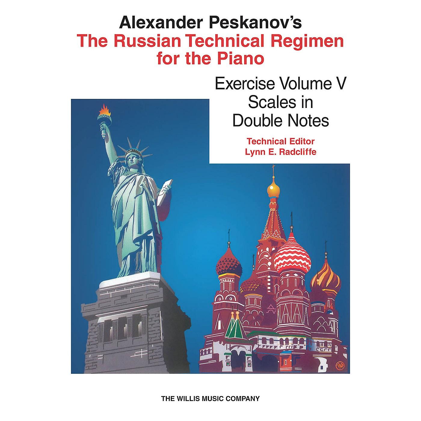 Willis Music Russian Technical Regimen - Vol. 5 Willis Series Composed by Alexander Peskanov thumbnail