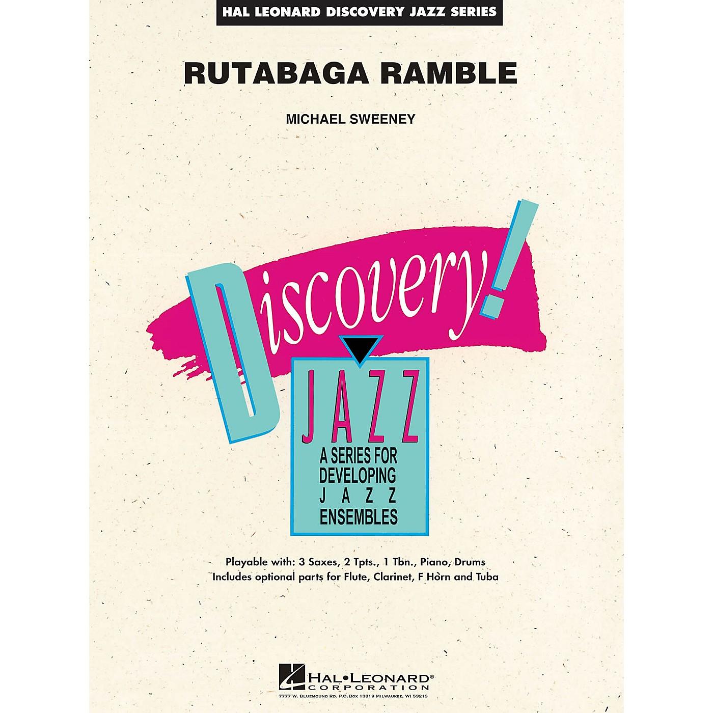 Hal Leonard Rutabaga Ramble Jazz Band Level 1.5 Composed by Michael Sweeney thumbnail