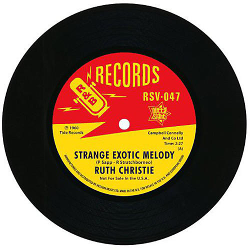 Alliance Ruth Christie - Strange Exotic Melody/This Must Be Love thumbnail
