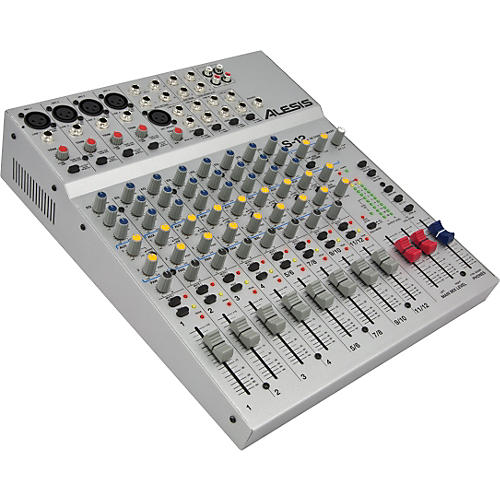 Alesis S-12 12-Channel Compact Mixer-thumbnail