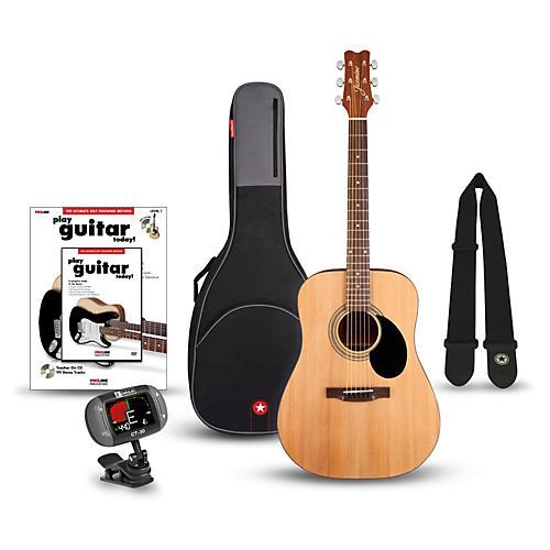 Jasmine S-35 Dreadnought Acoustic Guitar Bundle thumbnail