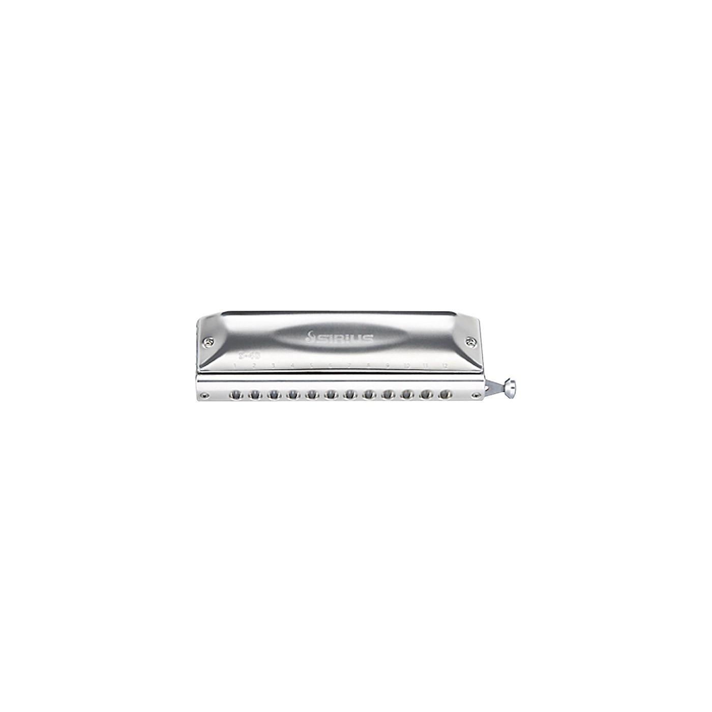 Suzuki S-48S Sirius 48-Hole Chromatic Straight Harmonica thumbnail