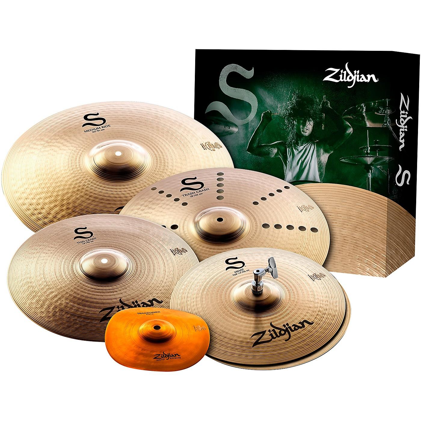 Zildjian S Series FX Cymbal Pack thumbnail