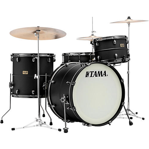 TAMA S.L.P. Big Black Steel 3-Piece Shell Pack thumbnail