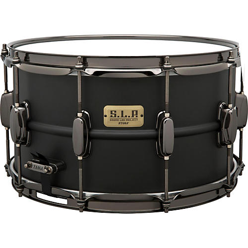 Tama S.L.P. Big Black Steel Snare Drum thumbnail