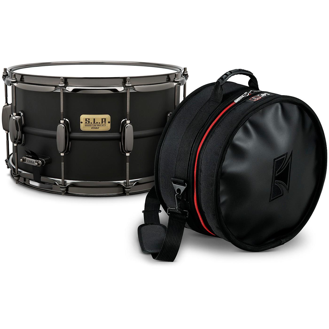 TAMA S.L.P. Big Black Steel Snare Drum with Tama Bag thumbnail