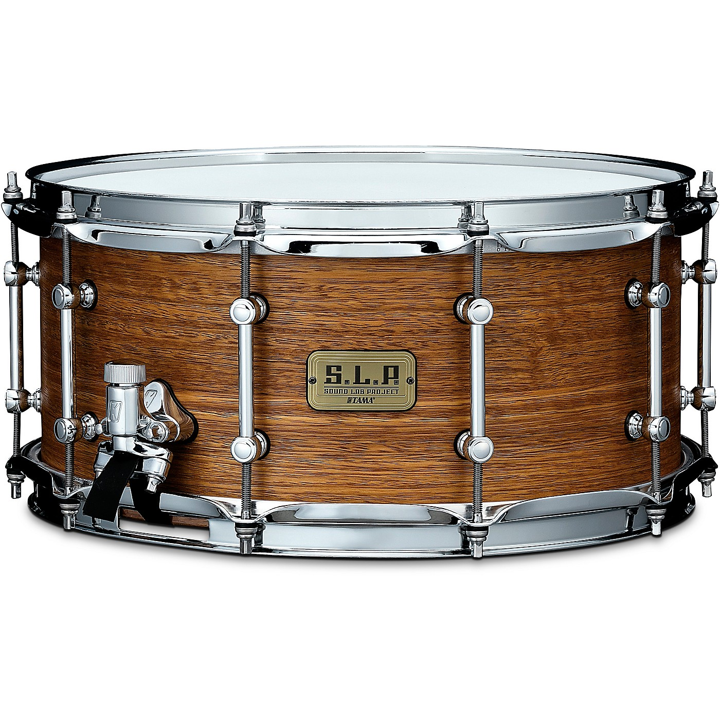 TAMA S.L.P. Bold Spotted Gum Snare Drum thumbnail