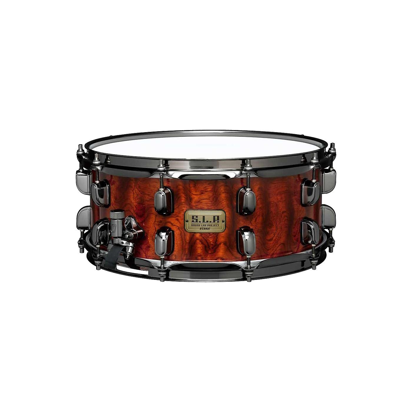 TAMA S.L.P. G-Bubinga Snare Drum thumbnail