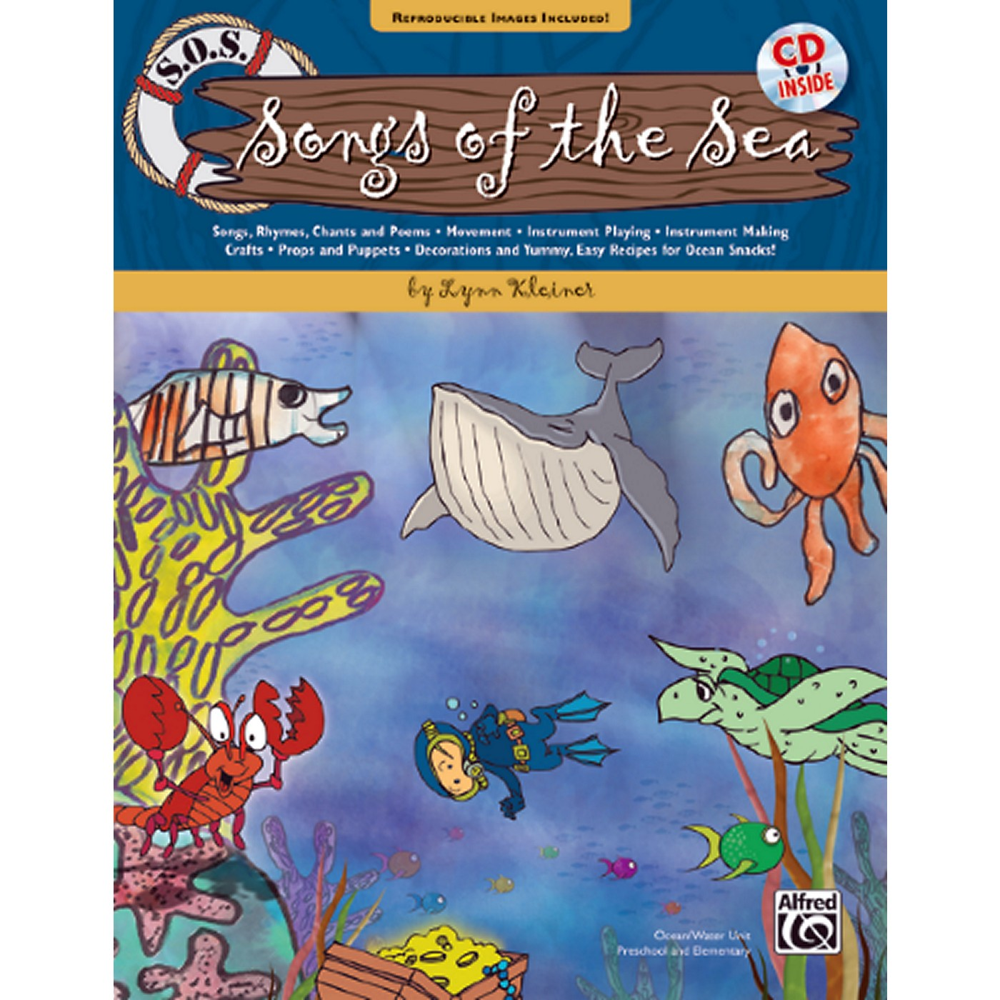 Alfred S.O.S. Songs of the Sea Book & CD thumbnail