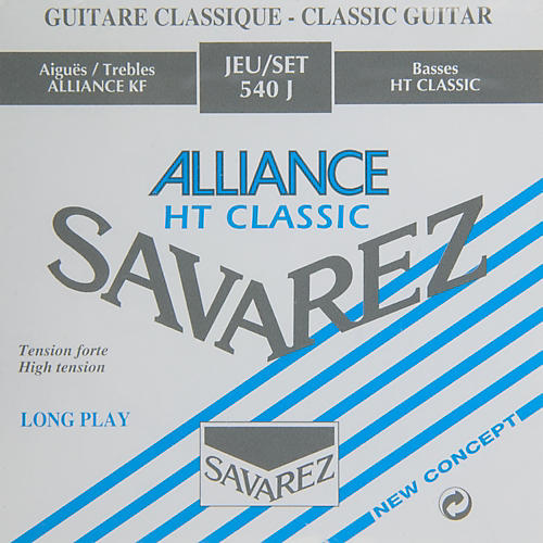 Savarez S540J High Tension Classic Guitar Strings thumbnail