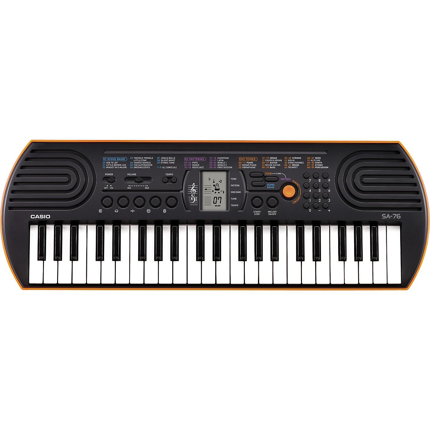 Casio SA-76 Keyboard thumbnail