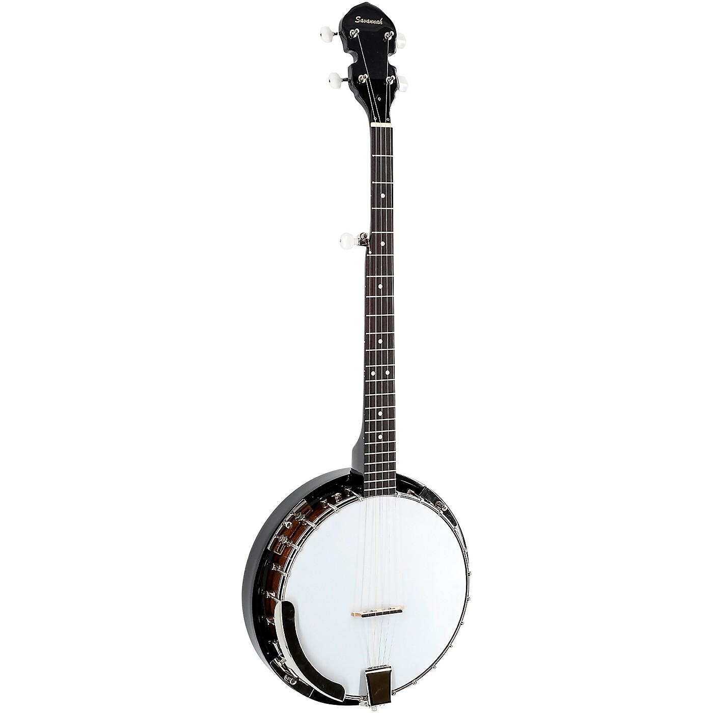 Savannah SB-095 Resonator 5-String Banjo thumbnail