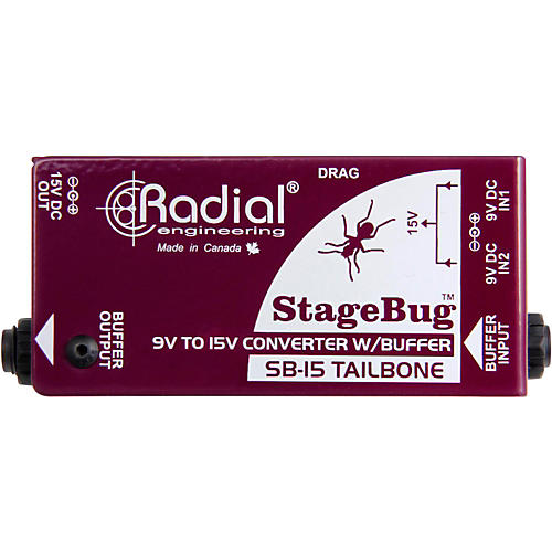 Radial Engineering SB-15 Tailbone High Performance Signal Buffer thumbnail
