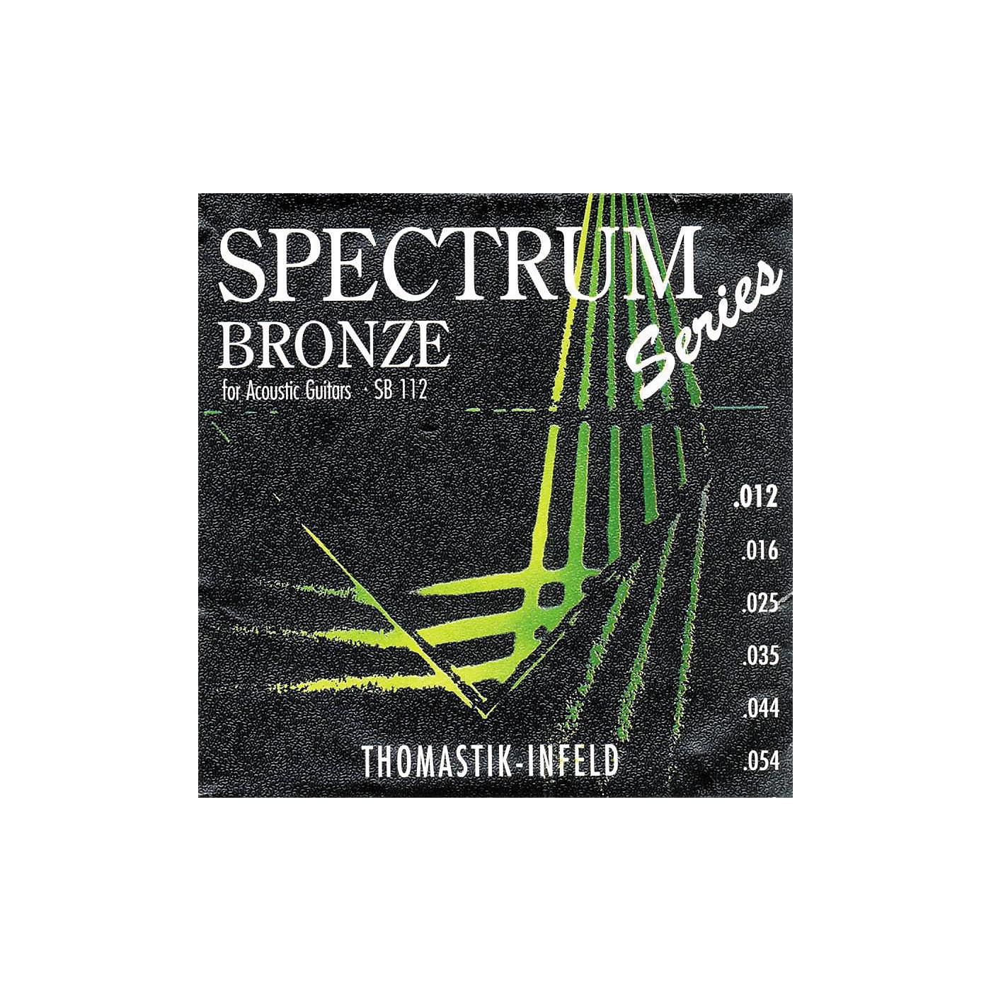 Thomastik SB112 Spectrum Bronze Acoustic Strings Medium-Light thumbnail