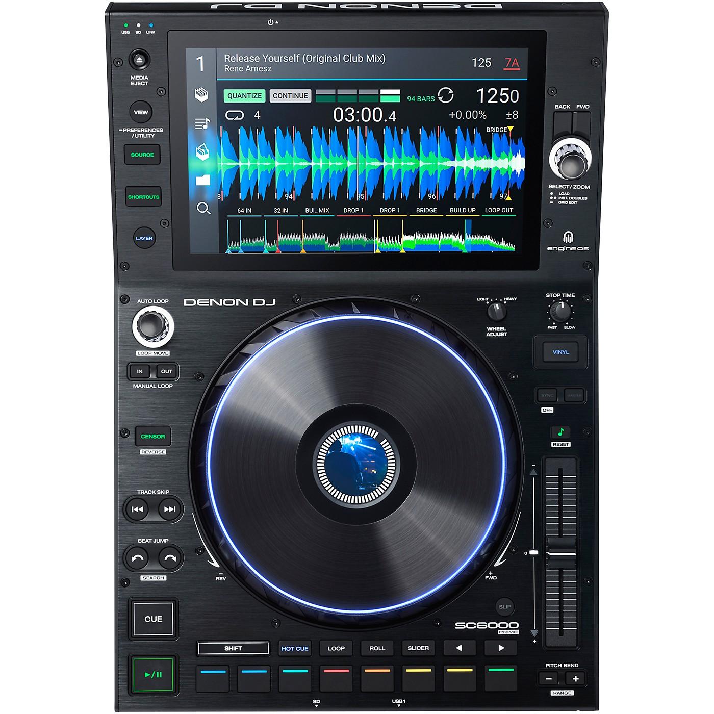 Denon DJ SC6000 PRIME Professional DJ Media Player thumbnail