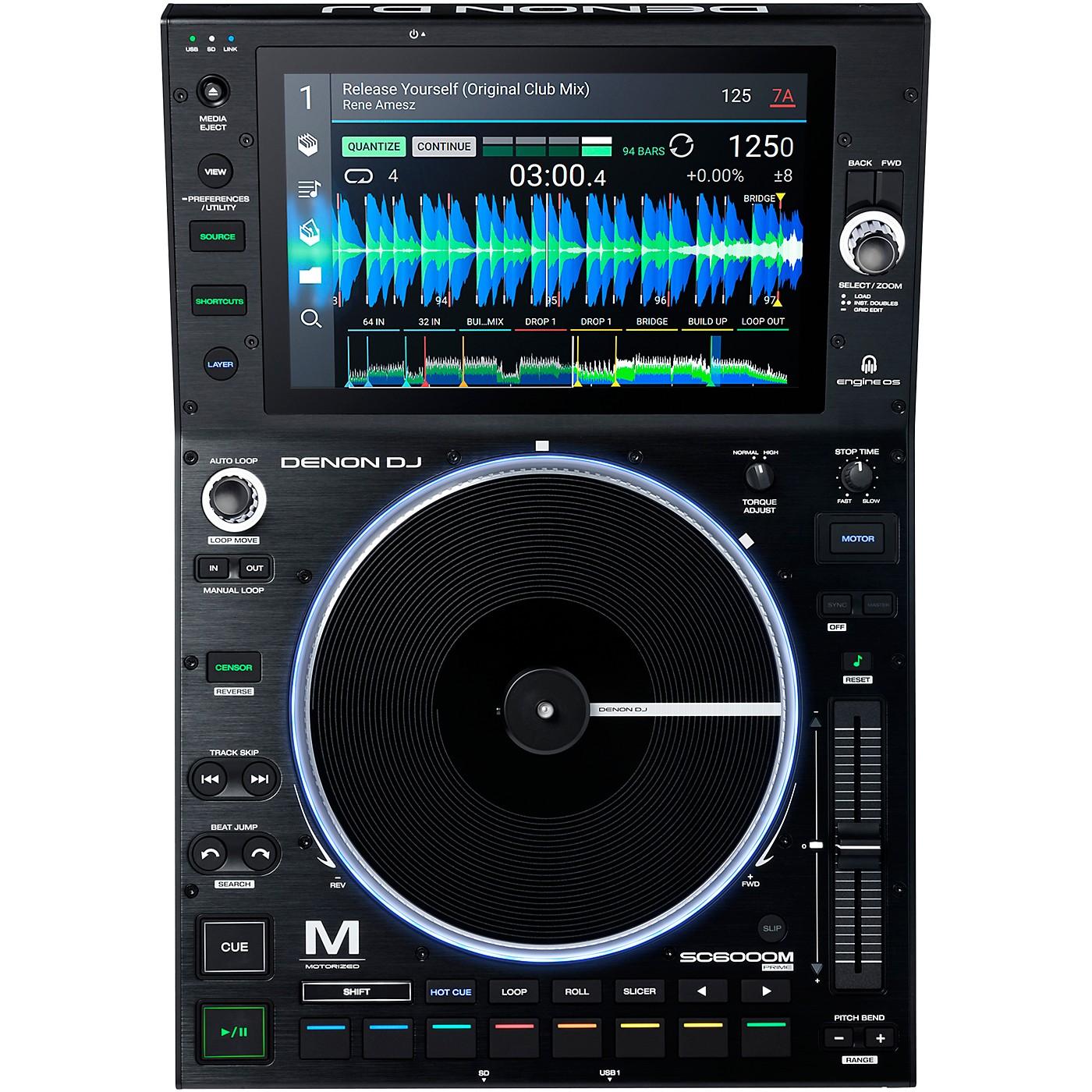 Denon DJ SC6000M PRIME Motorized DJ Media Player thumbnail