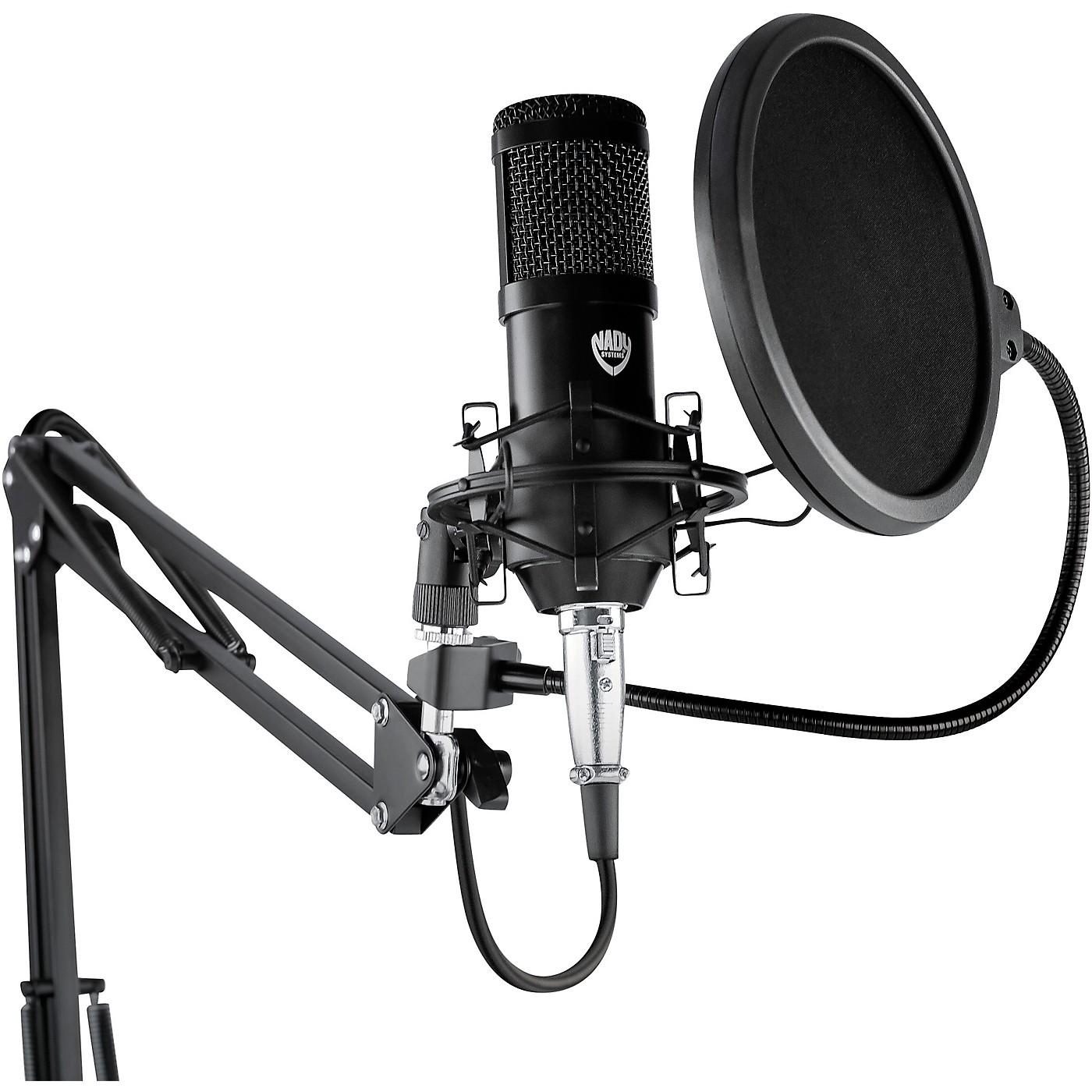 Nady SCM-707 8-Piece Studio Condenser Microphone Podcast Bundle thumbnail