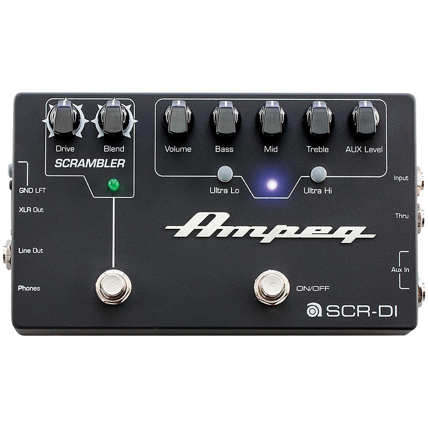 Ampeg SCR-DI Bass DI Preamp with Scrambler Overdrive thumbnail
