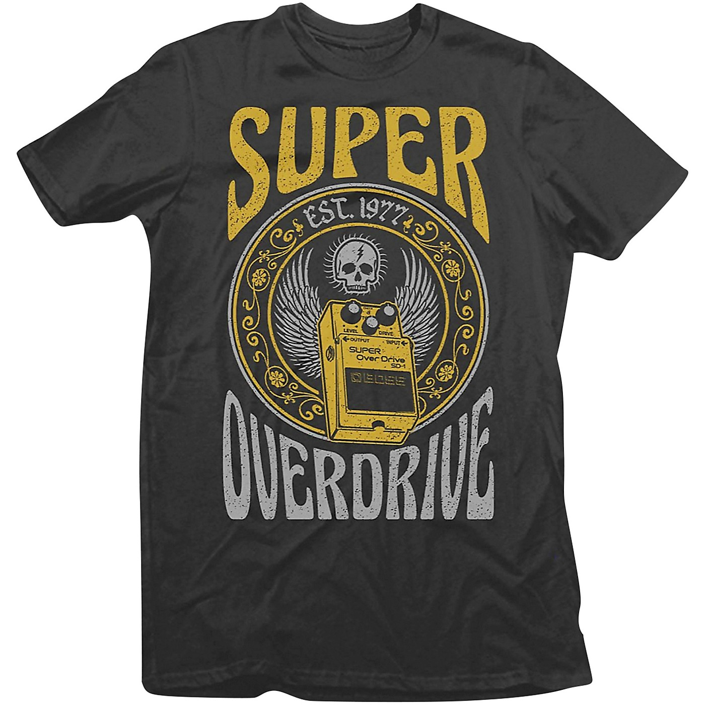 Boss SD-1 Pedal Crew Neck T-Shirt thumbnail