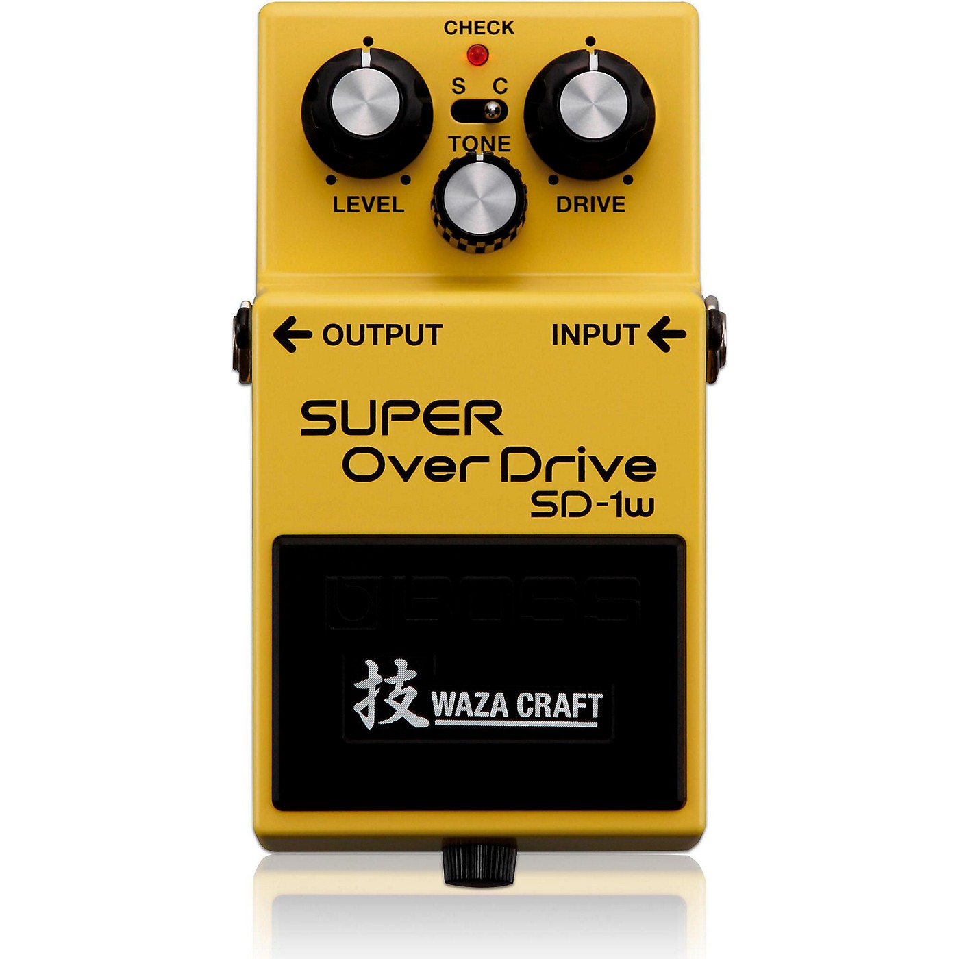 Boss SD-1W Super Overdrive Waza Craft Guitar Effects Pedal thumbnail