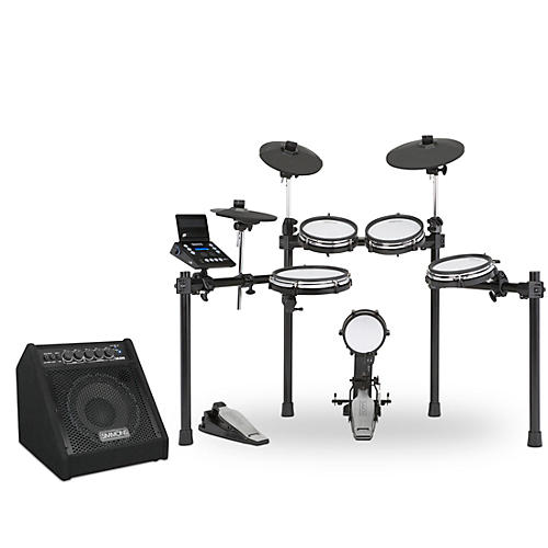 Simmons SD600 Electronic Drum Set with Mesh Heads, Bluetooth and DA50B Monitor thumbnail