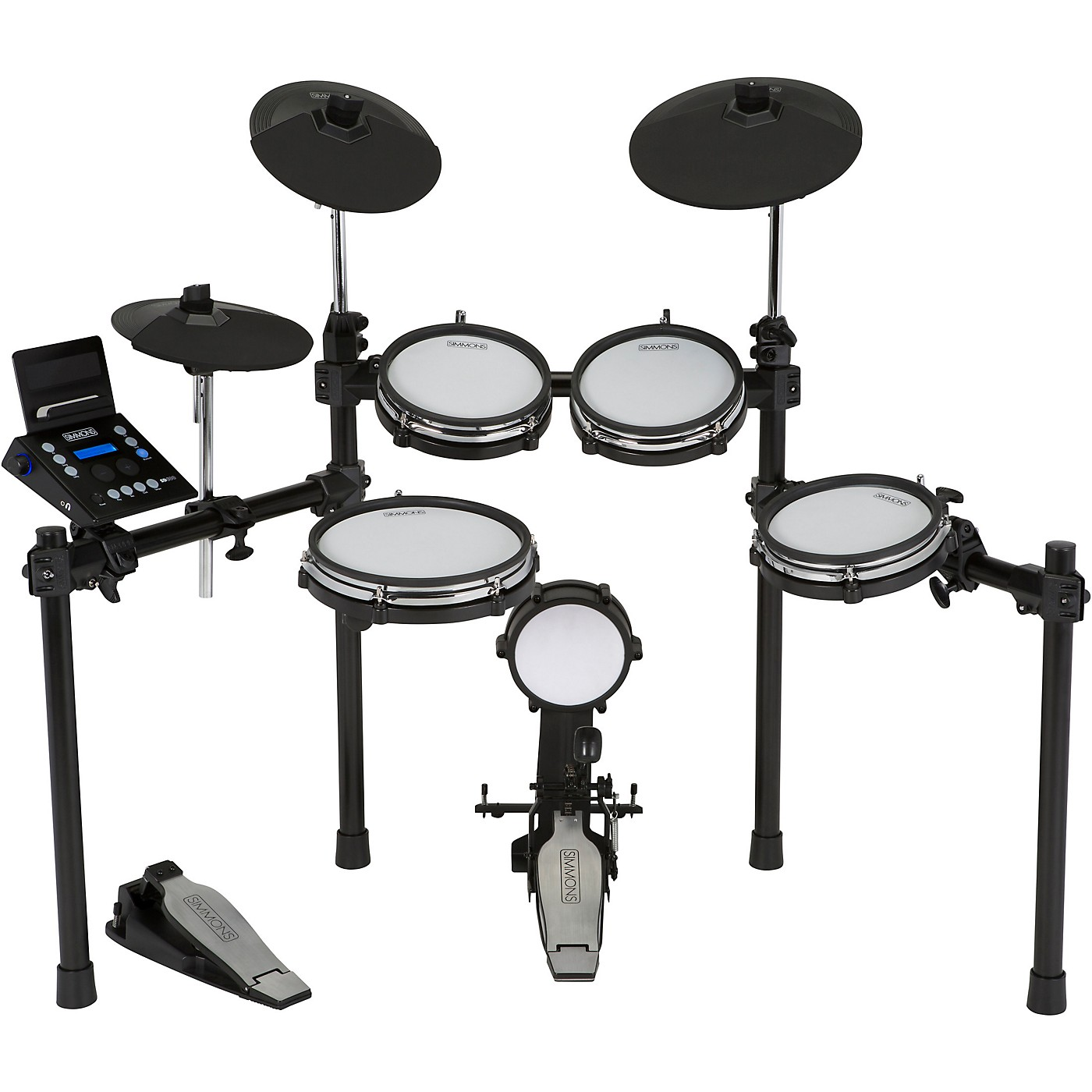 Simmons SD600 Electronic Drum Set with Mesh Heads and Bluetooth thumbnail