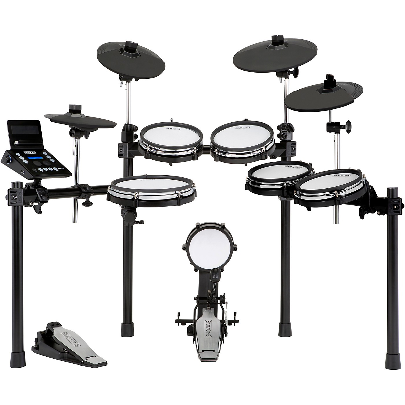 Simmons SD600 Expanded Electronic Drum Kit with Mesh Pads and Bluetooth thumbnail
