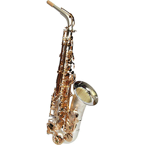 Sax Dakota SDA-XL-110 Professional Alto Saxophone Gold Plated Keys thumbnail