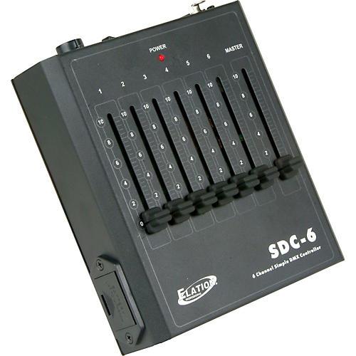 Elation SDC-6 DMX Controller thumbnail
