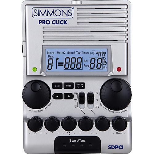 Simmons SDPC1 Pro Click Metronome thumbnail