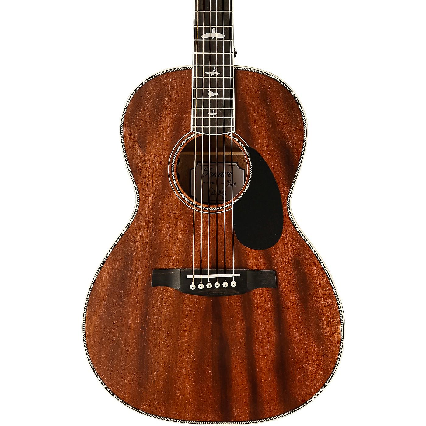 PRS SE P20 Parlor with All Mahogany Construction and Satin Finish Acoustic Guitar thumbnail