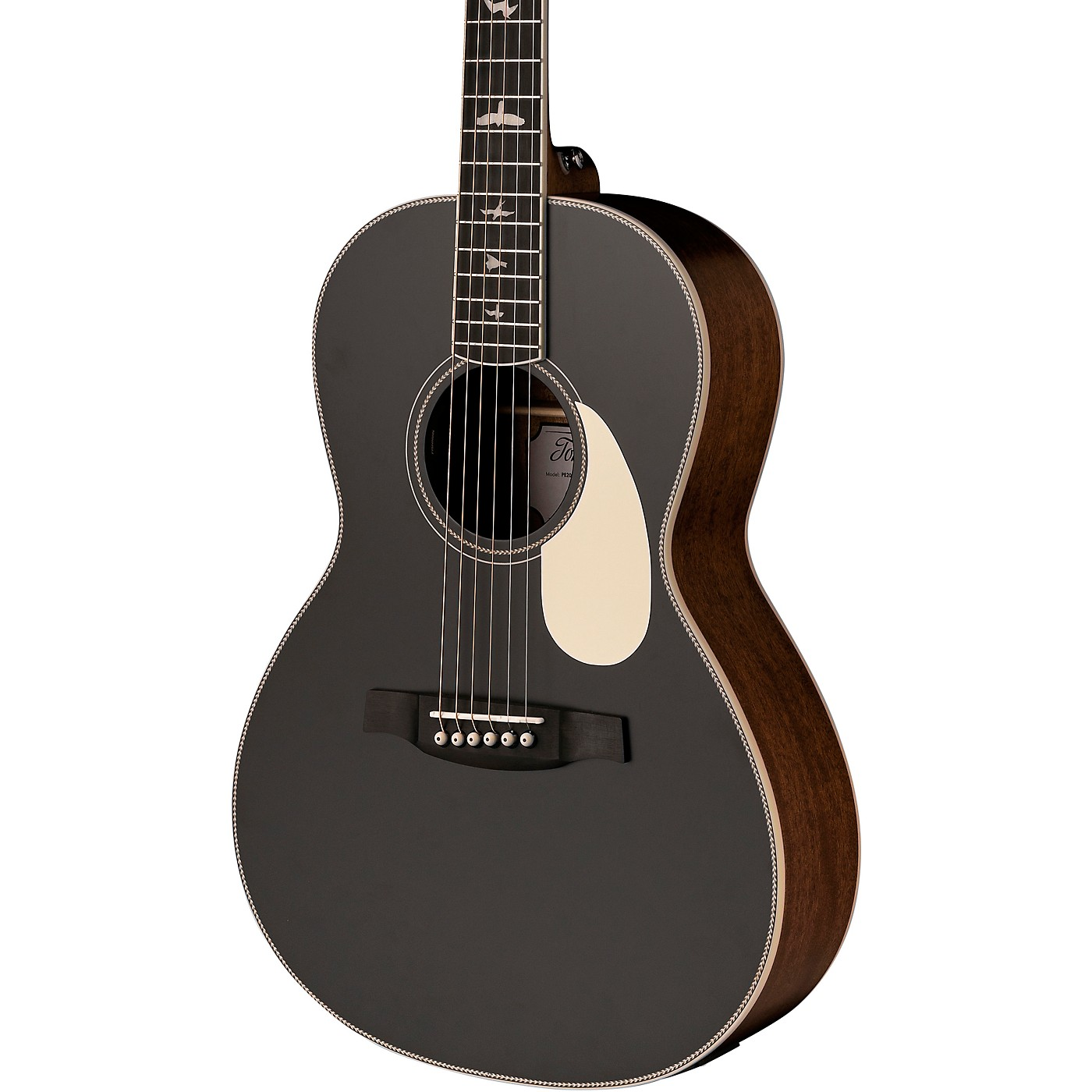 PRS SE P20E Parlor with All-Mahogany Construction Fishman GT1 Pickup System and Satin Finish Acoustic Electric Guitar thumbnail