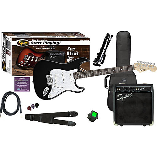 Squier SE Special Strat with Squier SP-10 Amp Value Pack thumbnail