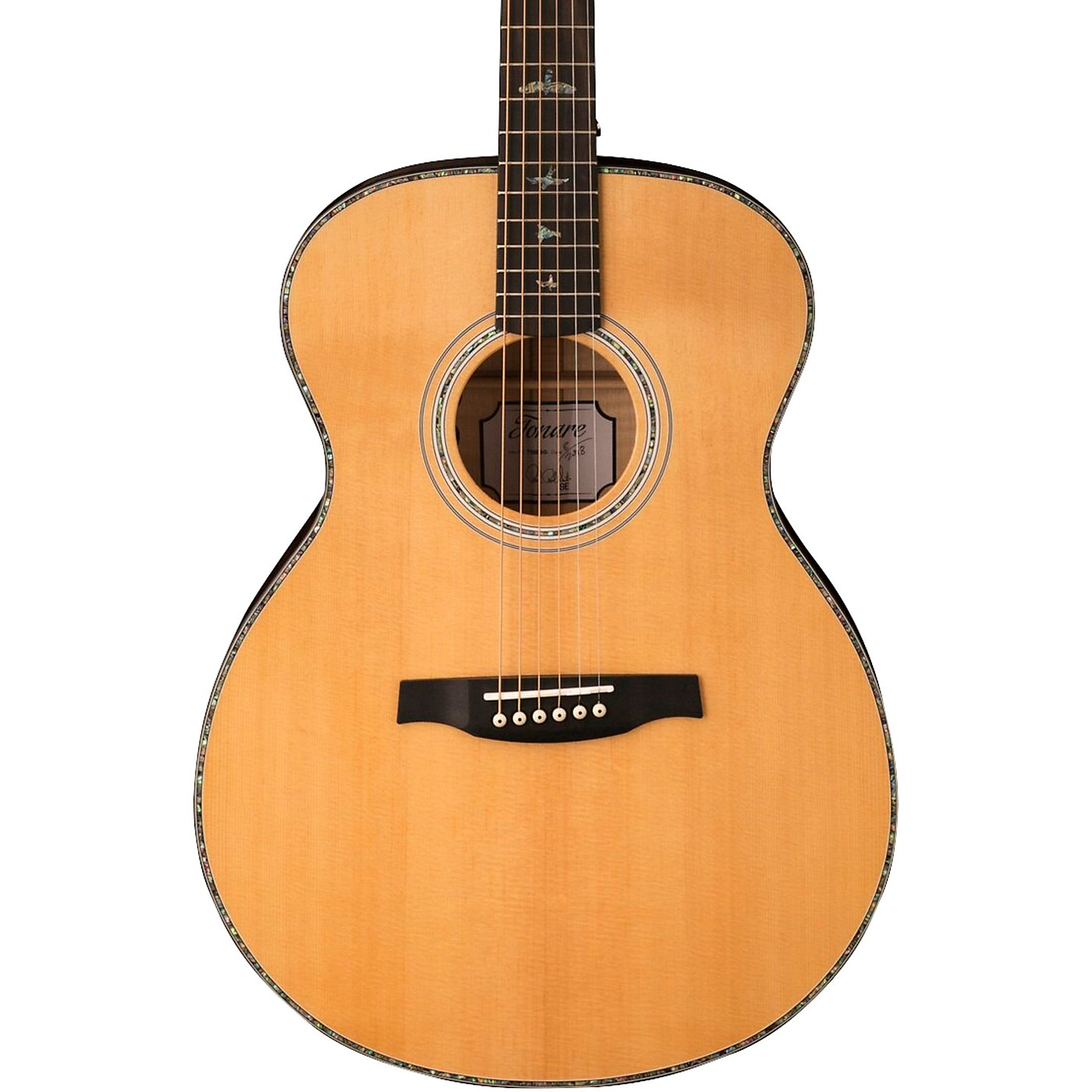 PRS SE TE55 Acoustic-Electric Guitar thumbnail