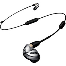 Shure SE425 Sound Isolating Earphones, Silver with Bluetooth 4.1 communication cable