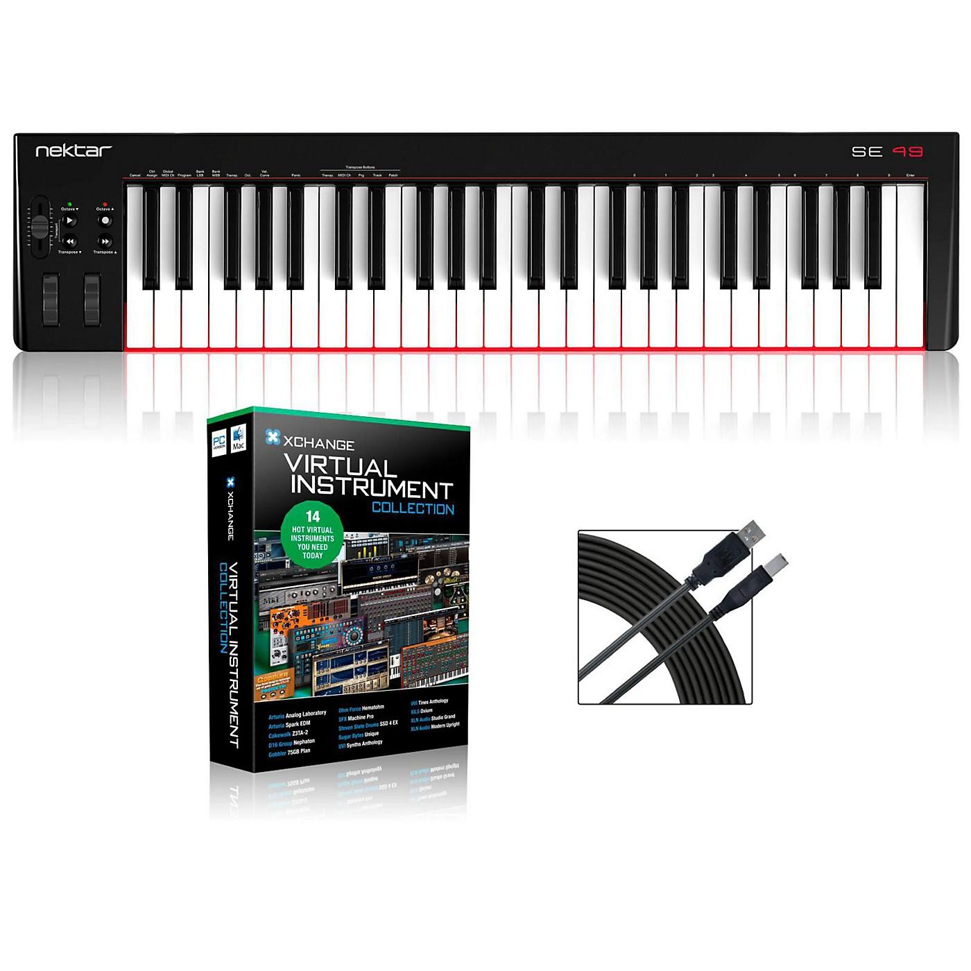 Nektar SE49 49-Key USB MIDI Keyboard Controller Packages thumbnail