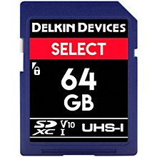 Delkin SELECT SDHC Memory Card